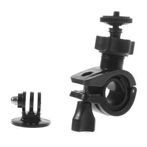 Bicycle Handlebar Clamp Mount Holder w/ Mount Adapter for Gopro Hero 2 3 3+
