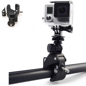 Motorcycle Bicycle Handlebar Mount Clamp for Gopro Hero 3+ 3 2 1 Camera