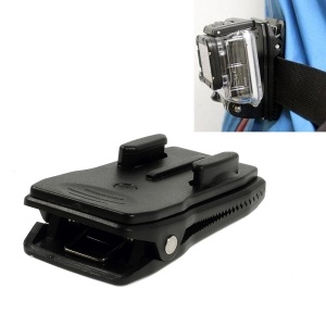 360 Degree Rotary Backpack Strap Quick Release Clip Clamp Mount for Gopro Hero 2 3 3+
