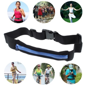 Blue Workout Gym Belt Waist Pack Bag for for iPhone 6 4.7 inch / Cellphones / Keys / Credit Cards