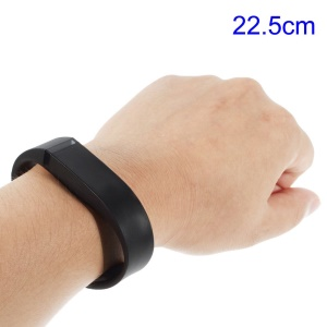 Black Replacement TPU Wristband with Clasp for Fitbit Flex, Length: 22.5cm
