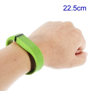 Green Replacement TPU Wristband with Clasp for Fitbit Flex, Length: 22.5cm