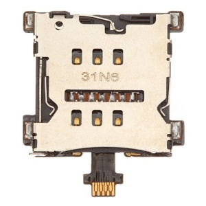 For HTC One M7 801e Sim Card Tray Holder Flex Cable