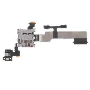 OEM SD Card Reader Contact with Flex Cable Ribbon for HTC One M8