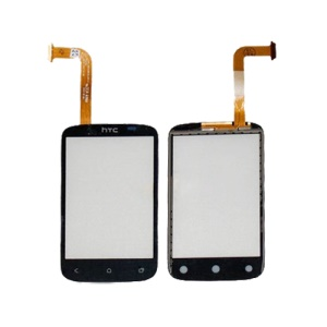Touch Screen Digitizer Front Glass Replacement for HTC Desire C A320E