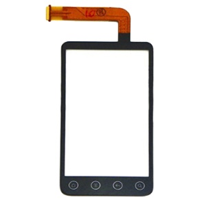 HTC EVO 3D Digitizer Touch Screen Front Glass Replacement