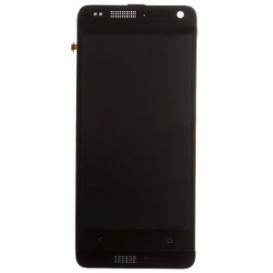 For HTC One Mini M4 LCD Screen and Digitizer Assembly with Front Housing OEM - Black