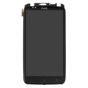 For HTC One X+ Plus S728e OEM LCD Assembly with Touch Screen Digitizer + Front Housing (LCD: Sony Version)
