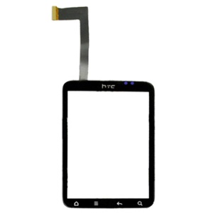 OEM Digitizer Touch Screen Front Glass Replacement for HTC Wildfire S (A510E/ PG76110)