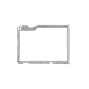 OEM SD Card Tray Holder Repair Part for HTC One M8 - Silver