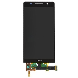 Black OEM for Huawei Ascend P6 LCD Screen Assembly with Digitizer Touch Screen
