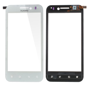 OEM Touch Screen Glass Digitizer Repair Part for Huawei Honor U8860 - White