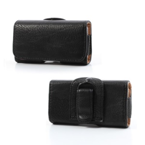 Horizontal Thick Leather Belt Clip Holster Pouch Cover for iPhone 4 / 4S / 3GS / 3G iPod Touch 4 Samsung S6802, Inner Size:12cm x 6cm x 2cm