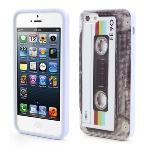 Cassette Tape TPU Back Case for iPhone SE 5s 5