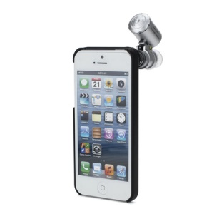 60X Microscope Zoom LED Micro Lens pour iPhone 5
