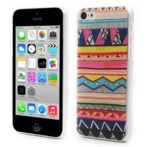 Colorful Tribe Design Embossed PC Hard Shell for iPhone 5c