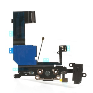 Black OEM for iPhone 5c Dock Connector Charging Port Flex Cable