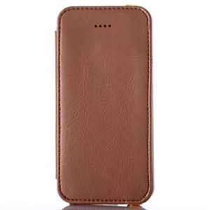 Brown for iPhone 5s 5 KLD My Love Series PU Leather Wallet Cover