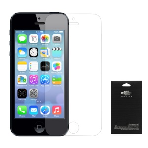Clear LCD Screen Protect Film para iPhone 5S (com pacote)