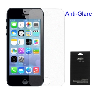 Para iPhone 5S Anti-Glare Screen Guard Film (com pacote)