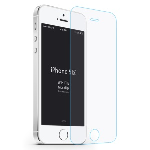 Baseus for iPhone SE 5s 5c 5 2.5D 0.3mm Tempered Glass Screen Protector (Arc Edge)