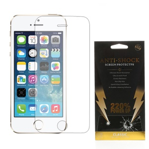 For iPhone SE 5s 5 BUFF Armor Ultimate Shock Absorption Screen Protector Film