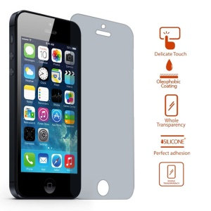 0.3mm Anti-peep Privacy Tempered Glass Screen Protector Guard Film for iPhone SE 5s 5 5c