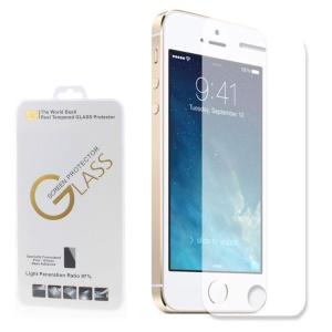 Protetor de tela de vidro Tempered 2.5D Ultra Thin 0.2mm para iPhone SE 5s 5c 5