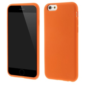 For iPhone 6 / 6s 4.7 inch Soft Silicone Gel Case Shell - Orange