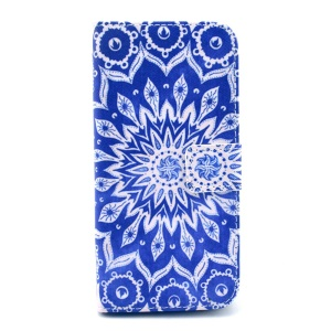 PU Leather Card Holder Case for iPhone 6 6s 4.7 inch - Mandala Pattern