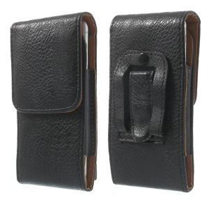 Elephant Skin Leather Magnetic Vertical Holster Pouch for iPhone X 5.8 inch / 8 / 6s 4.7 inch, Size: 145 x 73 x 18mm