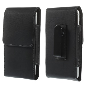 Lychee Leather Belt Clip Holster Pouch Case for iPhone 6s 6 4.7 inch/ Samsung S5 G900, Size: 143 x 73mm