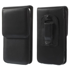 Smooth Leather Pouch Holster Case w/ Belt Clip for iPhone 6s 6 4.7 inch/ Samsung S5 G900, Size: 143 x 73mm
