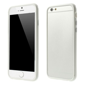 PC + TPU Protective Bumper Shell for iPhone 6s 6 4.7 inch - White