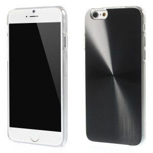 Metallic CD Veins Hard Case para iPhone 6 4.7 inch - negro