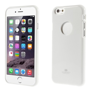 Mercury Goospery Jelly Soft TPU Case for iPhone 6s / 6 4.7 inch - White