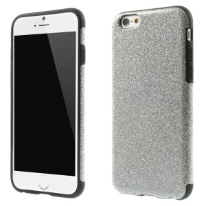 Glitter Powder Soft TPU Case Shell for iPhone 6s / 6 4.7 inch - Silver