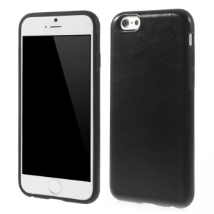 Crazy Horse Texture Soft TPU Case Shell for iPhone 6s / 6 4.7 inch - Black