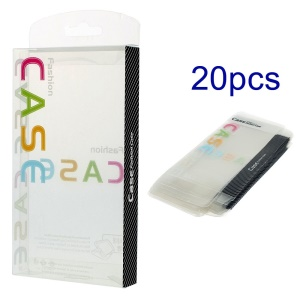 20pcs/Lot Blister Plastic Package Packing Box for iPhone 6 4.7-inch Case, Size: 15.3 x 8.4 x 1.9cm