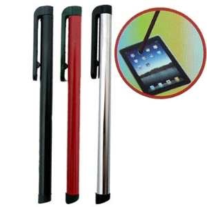 Soft Touch Stylus for Apple iPad/iPhone/iPod;Black