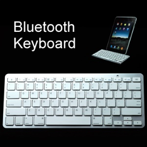 Super Thin Wireless Bluetooth Keyboard for iPad/iPhone 4.0 OS/PC/Smartphone/HTPC