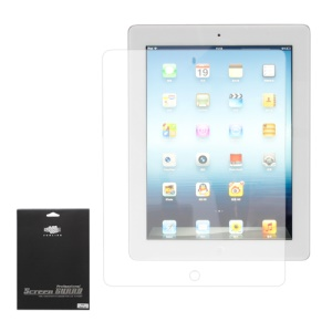 Clear LCD Screen Protector Cover Film for iPad 2 The New iPad 3rd Generation