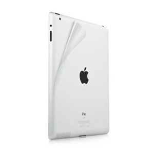 Clear Back Cover Protector Film for iPad 4 with Retina Display / The New iPad / iPad 2