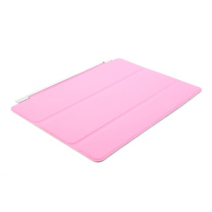 Pink for iPad Air Single Tri-fold Front Smart Leather Skin Cover w/ Stand
