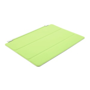 Green for iPad Air Single Tri-fold Smart Front Leather Skin Cover w/ Stand