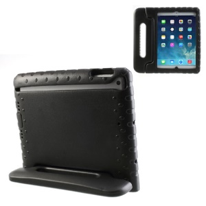 For iPad Air 5 Portable Kids EVA Foam Protective Case with Handle & Stand - Black