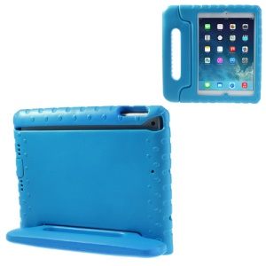 Portable Kids EVA Foam Handle Protective Stand Case for iPad Air 5 - Blue