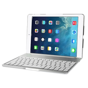 NoteKee F8 for iPad Air 5 Smart Slim Bluetooth Keyboard with Holder Case & Backlight