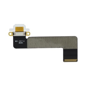 Dock Connector Charging Port Flex Cable for iPad Mini - White