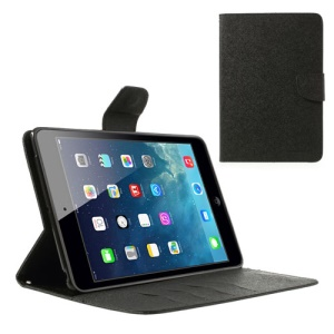 Mercury GOOSPERY Fancy Diary Wallet Leather Case for iPad mini / iPad mini 2 with Retina display - Black